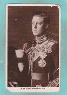 Small Post Card Of H.M.King Edward Vlll,England,N79. - Royal Families