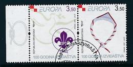 KROATIEN Mi.Nr. 805-806  Pfadfinder - 2007- Used - Europa-CEPT