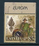 LETTLAND  Mi.Nr.  700 Pfadfinder - 2007- Used - 2007