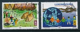LUXEMBOURG Mi.Nr. 1750-1751  Pfadfinder - 2007- Used - Europa-CEPT