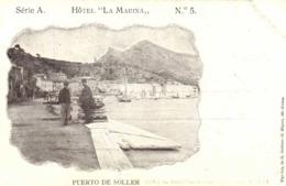 """HOTEL """" LA MARINA"""" SOLLER PUERTO DE SOLLER  RV - Mallorca"""
