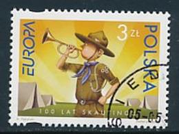 POLEN Mi.Nr. 4312  Pfadfinder - 2007- Used - Europa-CEPT