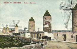 PALMA DE MALLORCA  Molinar Environs Colorisée   RV - Palma De Mallorca