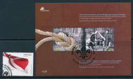 PORTUGAL-AZOREN  Mi.Nr. 531,Block 33  Pfadfinder - 2007- Used - 2007