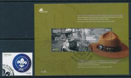PORTUGAL-MADEIRA  Mi.Nr. 276,Block 37  Pfadfinder - 2007- Used - Europa-CEPT