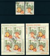 RUMÄNIEN  Mi.Nr. 6190-6191,Block 396 I, Block 396 II  Pfadfinder - 2007- Used - 2007