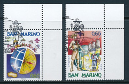 SAN MARINO Mi.Nr. 2299-2300  Pfadfinder - 2007-  Used - 2007