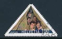 SCHWEIZ  Mi.Nr. 2011  Pfadfinder - 2007- Used - Europa-CEPT