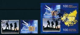 SERBIEN -KOSOVO Mi.Nr. 68-69, Block 6  Pfadfinder - 2007- Used - Europa-CEPT