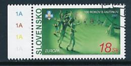 SLOWAKEI Mi.Nr. 556  Pfadfinder - 2007-  Used - Europa-CEPT