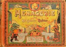 """Vieux Livre Relié """"Ménagerie"""" Par Benjamin Rabier, Dessinateur Animalier - 50 Planches Dessins Animaux Humanisés - Livres, BD, Revues"""