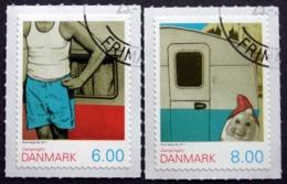 Denmark 2011   Camping Life -     MiNr.1640-41A    ( Lot  D 822 ) - Danimarca