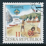 TSCHECHISCHE REPUBLIK  Mi.Nr. 516  Pfadfinder - 2007- Used - Europa-CEPT