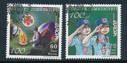 TÜRKEI  Mi.Nr. 3588-3589  Pfadfinder - 2007- Used - 2007