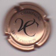Capsule Champagne CHEURLIN Veuve ( 22a ; Rosé Et Noir ) {S43-19} - Champagne