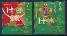 WEIßRUßLAND  Mi.Nr. 663-664  Pfadfinder - 2007- Used - Europa-CEPT