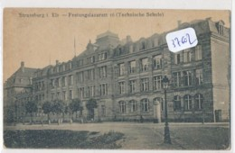 CPA 37602 -67 -Strasbourg -Festungslazarett 16 - Militaria  -Envoi Gratuit - Strasbourg