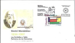 POSTMARKET  ESPAÑA 2007 MENDELEIEV - Chemistry