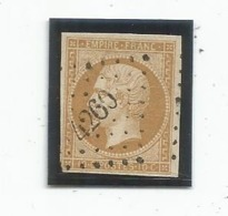 N° 13 PETIT DEFAUT T PC 4260 LE CHABLES HAUTE SAVOIE BELLE FRAPPE - 1849-1876: Classic Period
