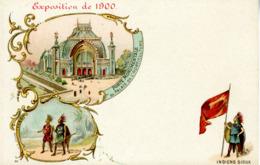 CPA - Exposition 1900 à PARIS - Pierre Petit - Photographe - INDIENS SIOUX - Exhibitions