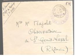 23718 - BATTERIE DE REPERAGE - Marcophilie (Lettres)