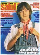 MAGAZINE  SALUT. RENAUD SECHAN. 13 MAI 1981.   6 EUROS PORT COMPRIS - Cinéma/Télévision