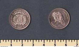 Dominicana 1 Centavo 1987 - Dominikanische Rep.
