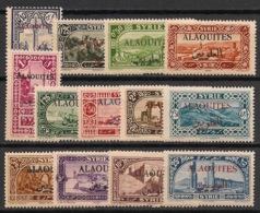 Alaouites - 1925-30 - N°Yv. 22 à 34 - Série Complète - Neuf Luxe ** / MNH / Postfrisch - Alaouite (1923-1930)