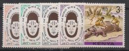 Kenya - 1977 - N°Yv. 70 à 73 - Festival D'art - Neuf Luxe ** / MNH / Postfrisch - Kenia (1963-...)