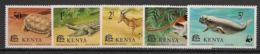 Kenya - 1977 - N°Yv. 86 à 90 - Faune En Danger - Neuf Luxe ** / MNH / Postfrisch - Kenya (1963-...)