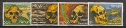 Kenya - 1982 - N°Yv. 212 à 215 - Crânes Préhistorique - Neuf Luxe ** / MNH / Postfrisch - Kenia (1963-...)