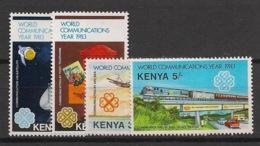 Kenya - 1983 - N°Yv. 264 à 267 - Communications - Neuf Luxe ** / MNH / Postfrisch - Kenya (1963-...)