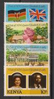 Kenya - 1983 - N°Yv. 275 à 278 - Queen Elisabeth II - Neuf Luxe ** / MNH / Postfrisch - Kenya (1963-...)
