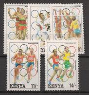 Kenya - 1992 - N°Yv. 548 à 552 - Olympics / Barcelona - Neuf Luxe ** / MNH / Postfrisch - Kenya (1963-...)