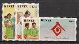 Kenya - 1994 - N°Yv. 591 à 594 - Année De La Famille - Neuf Luxe ** / MNH / Postfrisch - Kenya (1963-...)