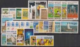 Kenya - Année Complète 1986 - N°Yv. 352 à 381 - 30 Values - Neuf Luxe ** / MNH / Postfrisch - Kenya (1963-...)