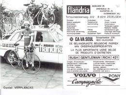 690 - CYCLISME - WIELRENNEN -  VERPLANCKE DANIEL - Cyclisme
