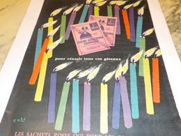 ANCIENNE PUBLICITE LEVURE ALSACIENNE ALSA 1960 - Posters