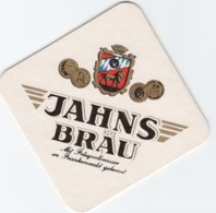 SOUS-BOCKS Coaster JAHNS BRAÜ Avec Écureuil Au Dos - Beer Mats