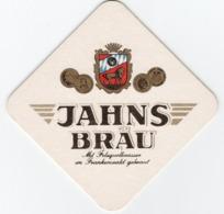 SOUS-BOCKS Coaster JAHNS BRAÜ Avec Lièvre Au Dos - Beer Mats