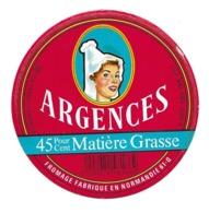 ETIQUETTE De FROMAGE Cartonnée..FROMAGE Fabriqué En NORMANDIE ( Orne 61)...ARGENCES - Fromage