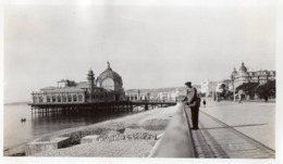PHOTO ORIGINALE 1935 - L - ALPES MARITIMES - NICE - CASINO JETEE PROMENADE - FORMAT 11 X 6.8 - Lieux