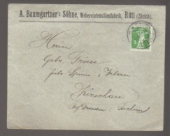 8345- Switzerland , Schweiz , Cover To Germany 1911 – - Poststempel