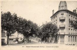 """SAINT CHAMOND """" Avenue De La Gare' - Saint Chamond"""