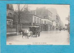 Paris. - La Crue De La Seine. - Le Passage Du Boulanger, Rue De Lourmel. - Arrondissement: 15