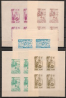 Syrie - 1957 - 5 Luxus Sheetlets N°Yv. PA 115 à 119 - International Fair - Neuf Luxe ** / MNH / Postfrisch - Textile