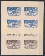 Syrie - 1958 - Block N° V7 à V8 - 2 Luxus Sheetlets - Jamboree - Neuf Luxe ** / MNH / Postfrisch - Siria