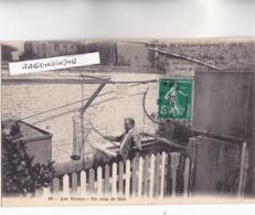 """CPA - 59 - HEM (Nord) - AUBERGE De L'HEMPEMPONT """"Friture D' Anguilles"""" - Les Viviers Un Coup De Filet - Très Bel état 1 - France"""