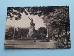 Statue ARAGO, La Place Et Les Mimosas ( Narbo ) Anno 19?? ( Voir Photo ) ! - Perpignan