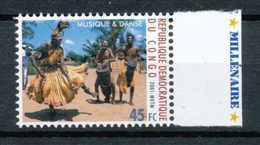 NB - [810412]TB//**/Mnh-RD CONGO 2001 - N° 1899, Musique Et Danse Du Congo. SNC. - Danse